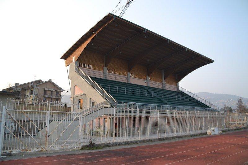 Giaveno (TO) – copertura tribune Stadio A.Torta
