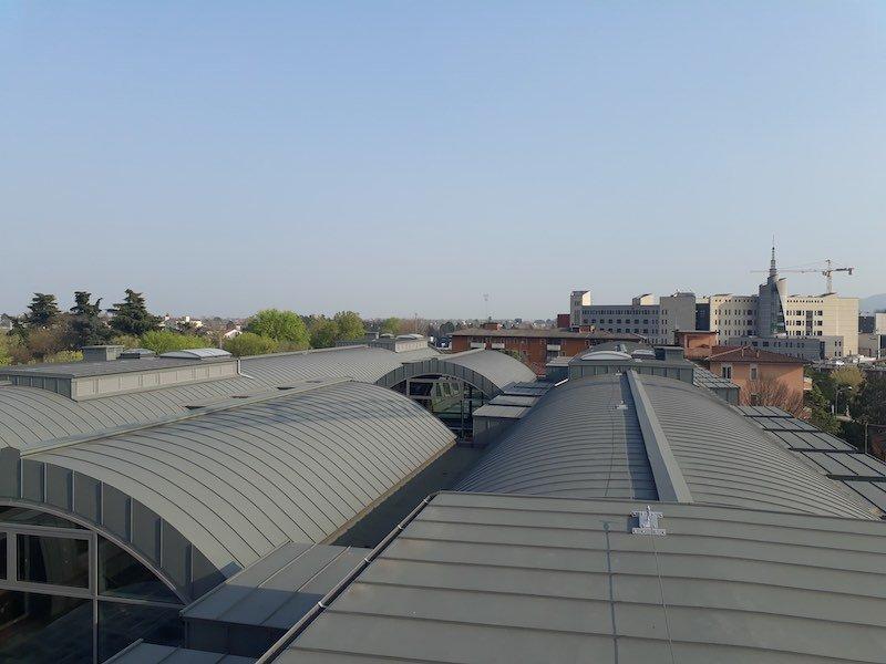 Realizzazione manto di copertura del nuovo polo universitario area Mezzalira a Vicenza